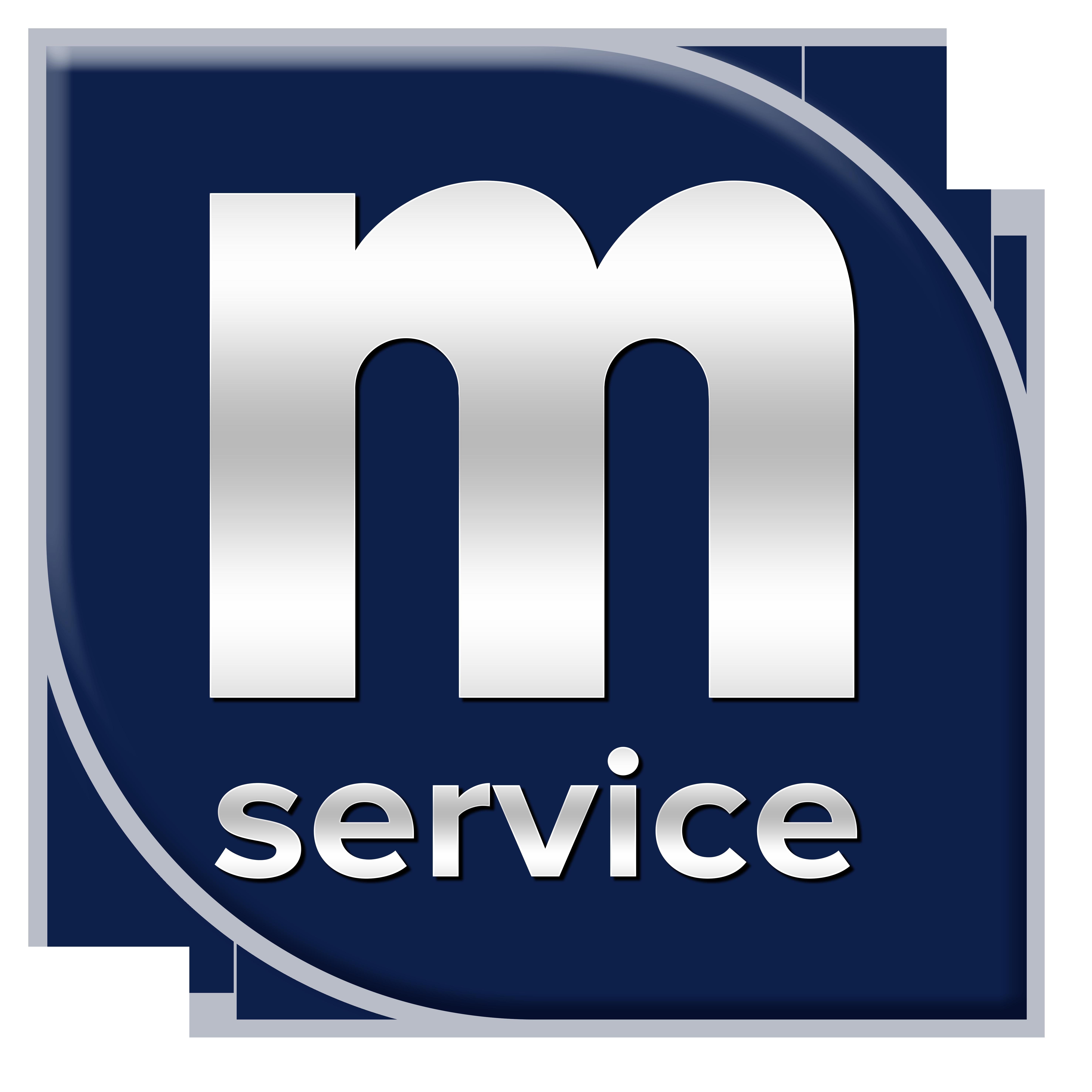 m-service logo
